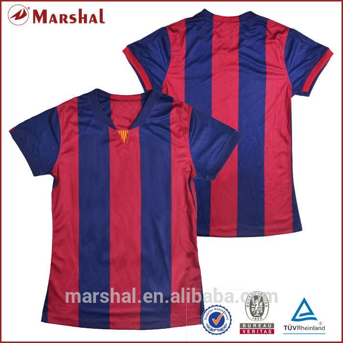 Womens Soccer Shirt Designs Ladies Thailand Quality Soccer Jersey New Uniform Designs Women Soccer
