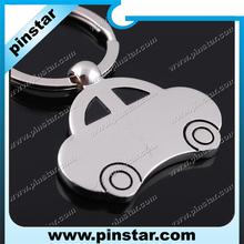 2014 hot sale cute alloy zinc enamel classic mini car keyring/ keychain/ bag charm
