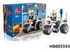 27 Pcs Children Educational Building Block Toys Mini Motorcycle
