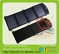 nueva fábrica de china de energía solar cargador de batería para el panel del ordenador portátil para el iphone y el ipad directamente bajo la luz del sol