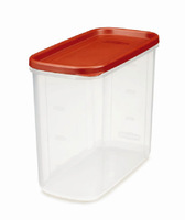 Clear custom plastic 16-Cup Dry Food Container