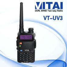 VITAI VT-UV3 VHF UHF Radio am/fm walkie talkie