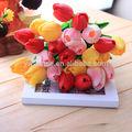 Yiwu 2014 aimee suprimentos decoração artificial toque real lâmpadas tulip( sou- ly010)