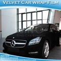 Sino carlike 1.52x15m 5ftx49ft producteur usine de super qualité feuille adhésive velours auto