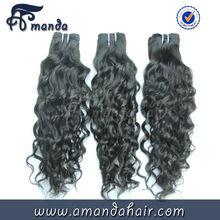 Hot sale vigin remy 100% unprocessed 5a peruvian hair weaving