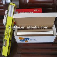Roll Type aluminium foil for food packaging length 3m