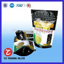 food grade aluminium foil heat seal resealable plastic bags for food