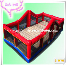Hot sale commercial grade PVC Tarpaulin brand new WG49 inflatable volleyball court