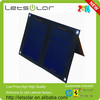 outdoor foldable solar charger bag for samsung mobile phone