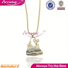 Top Customized Jewelry Factory Bag Shaped Handbag Pendant Necklace