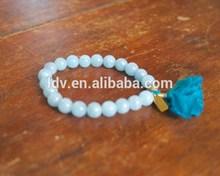 Womens Agate Mala Tassel Bracelet Beaded Wrist Prayer Beads Mantra Meditation Yoga Inspired Jewelry Spiritual Gemstone Healing J