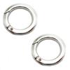 Fashion High Quality Metal Bag Hook Clasp Round Ring