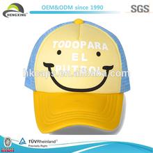 Qualityed Screen Print Mesh Cotton Baby Hat Snapback Cap