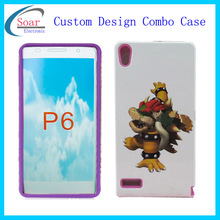 cheap mobile phone cases china alibaba wholesell combo case for P6