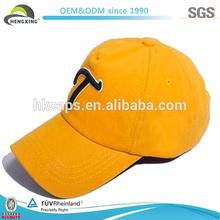 Yellow Cotton Baby Baseball Caps/Embroidery Baby Baseball Caps