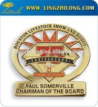 Zinc Gold Metal Pin Badge Souvenir Item