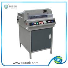 High precision electrical paper cutter machine