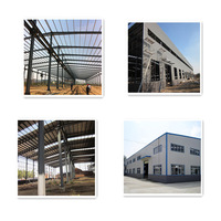 easy to clean and maintainance long duration light steel structure building for workshop