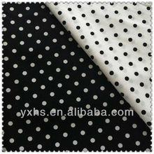 Good Quality Soft Yarn Dyed Print Cotton Fabric Dot