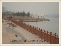 China cheap WPC fence /pergola/railing