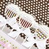 Dots & Stripes Personalized Lollipop Wedding Edible Favors