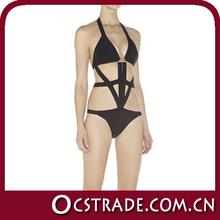 2014 hot selling sexy girl micro black bikini swimwear models
