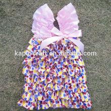 eye-catching pretty child satin petti dress of diverse colors