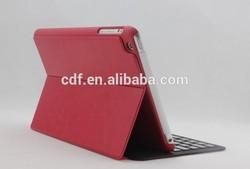 Lefant new design slim waterproof bluetooth wireless keyboard PU Leather Case Cover For IPAD mini