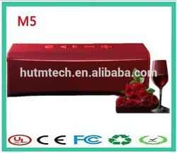 Suppot TF card Hands free M5 wireless speaker transmitter