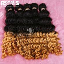 Aliexpress brazilian virgin deep wave ombre hair high quality 5aa brazilian vergin hair