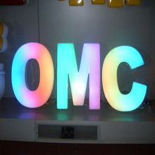 Programmable Led Epoxy Channel Resin Letter Sign