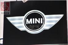 custom made vacuum forming 3d led car logo/car emblem