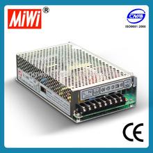 MIWI Q-120D 5V 12V 24V -12VDC 120W Quad output ac/dc switching power supply
