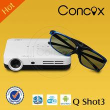 Concox gps tv projector mobile phone Q Shot3