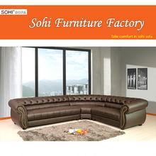 heated leather sofa ,imported leather sofa
