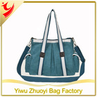 Classic large capacity handle style canvas tote bags