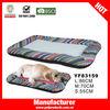 China cheap ripple pattern cooling pet beds