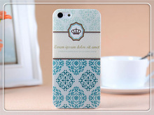 oem is welcome; phone case for apple iphone 5c,For Iphone 5s Plastic Custom Printed Case