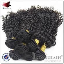 Easy To Dye Hair/Donor Top Grade 5A 100% Virgin Remy malaysian curly hair weft virgin