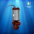 10hp obras de drenaje de alto volumen de baja presión de las bombas de agua