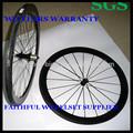 Ultra light 38mm clincher rodado carbono tubular, 700c cheio de carbono rodas de bicicleta com boa hubs