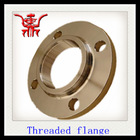 ansi 125 threaded flange dimensions with low price in china manufacturer