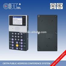 OBT-9801 Public Address PA fm transmitter,internet radio receiver,cross-network gateway / internet radio receiver