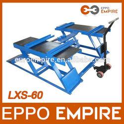 professional manufacture with CE cheap car lifts/pneumatic scissor auto lift