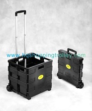 2012 hot Plastic Shopping Cart Trolley For Supermarket