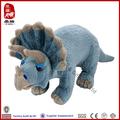 China wholesale stuffed triceratops plush soft toy dinosaur king