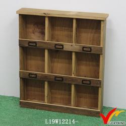 wall vintage design living room cabinet divider