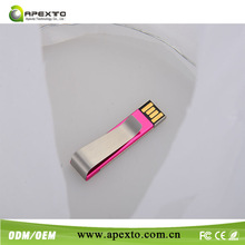 Waterproof usb flash drive 4gb free packing fee + free laser print fee +100 % full capacity