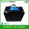 12V 120Ah lithium caravan battery