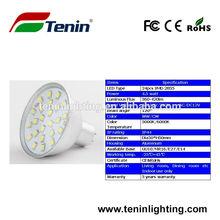 SMD2835 24leds spot lighting 2012 a 4.5W Shenzhen factory